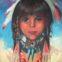 Portret Indianki wyróżniony